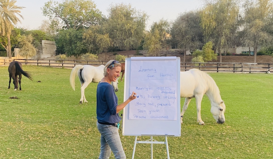 leadership course horses dubai monica EAHAE