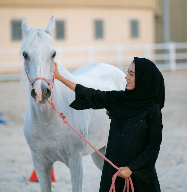 women leadership course with horses in UAE, Abu Dhabi